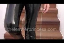 a-squeaky-walk-in-tight-pvc-trousers