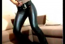 dancing-in-her-leather-pants