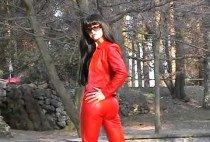 sexy-lady-in-red-leather-pants-and-jacket