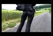 sexy-skintight-leather-pants-girl-jessi-part-ii